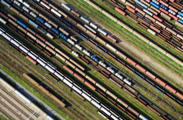 Arial View Of A Rail Park (Small)