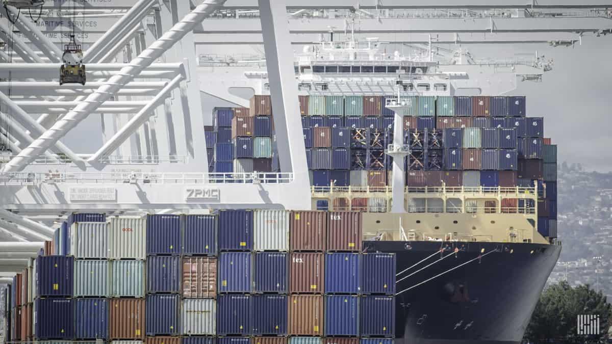 Container Ship Jim Allen FW