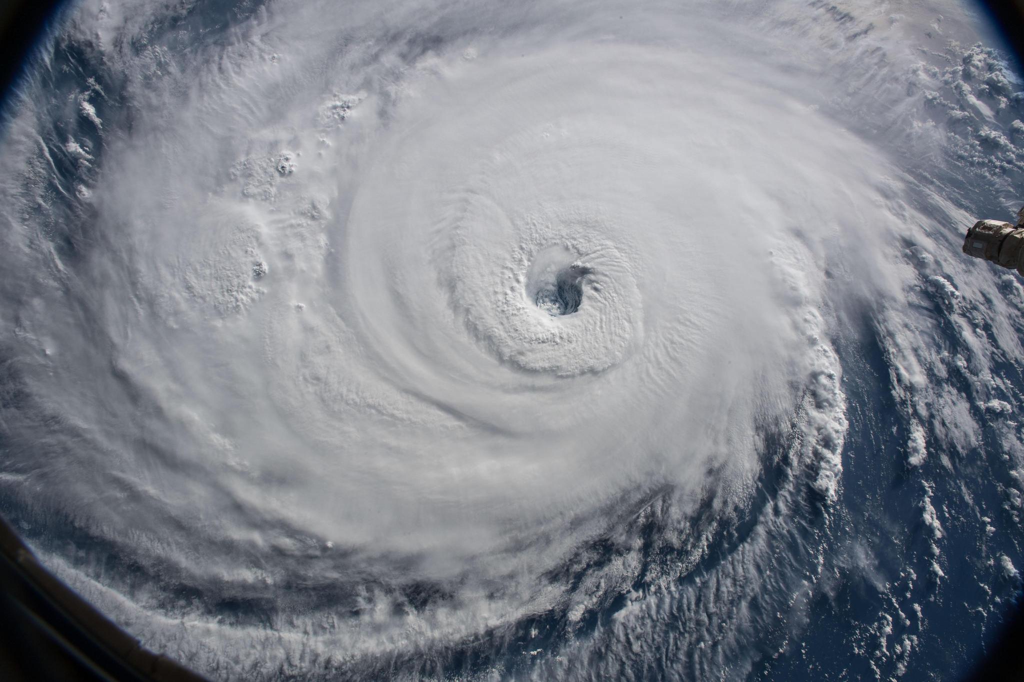 Hurricane Florence In Space Sep. 12 2018.Jpeg