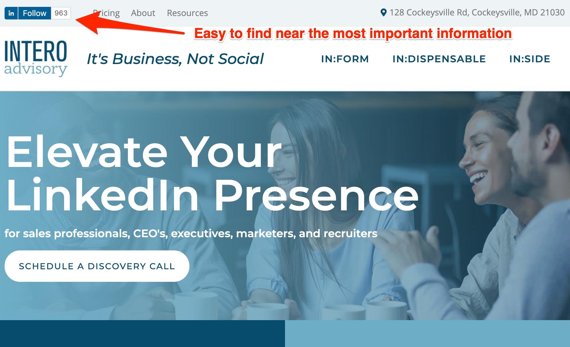 7.14.20 Intero Company Page Follow Button