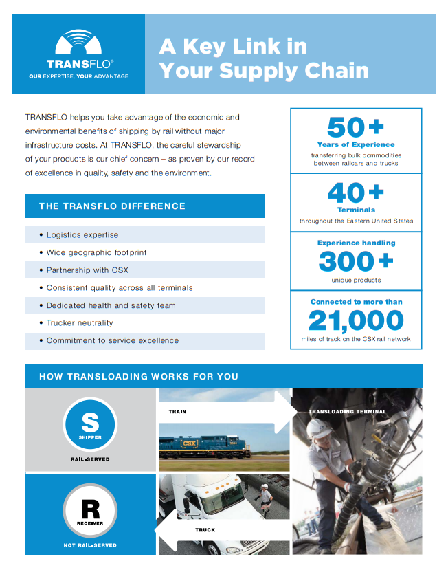 TRANSFLO: A Key Link in Your Supply Chain