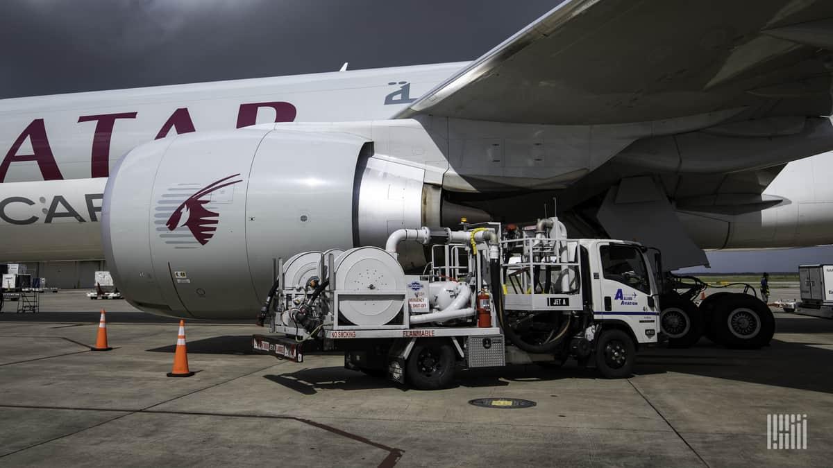 Qatar Jet Fuel