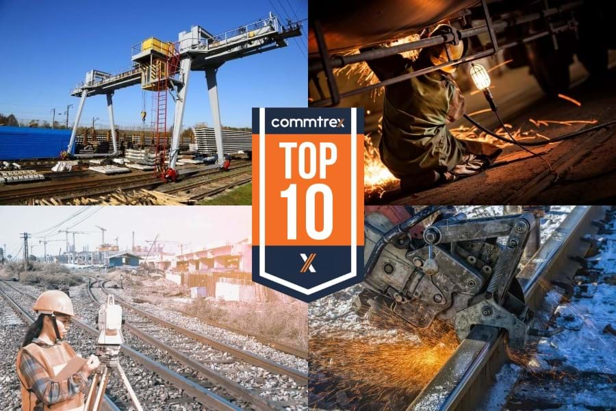 Top 10 Rail Services Collage